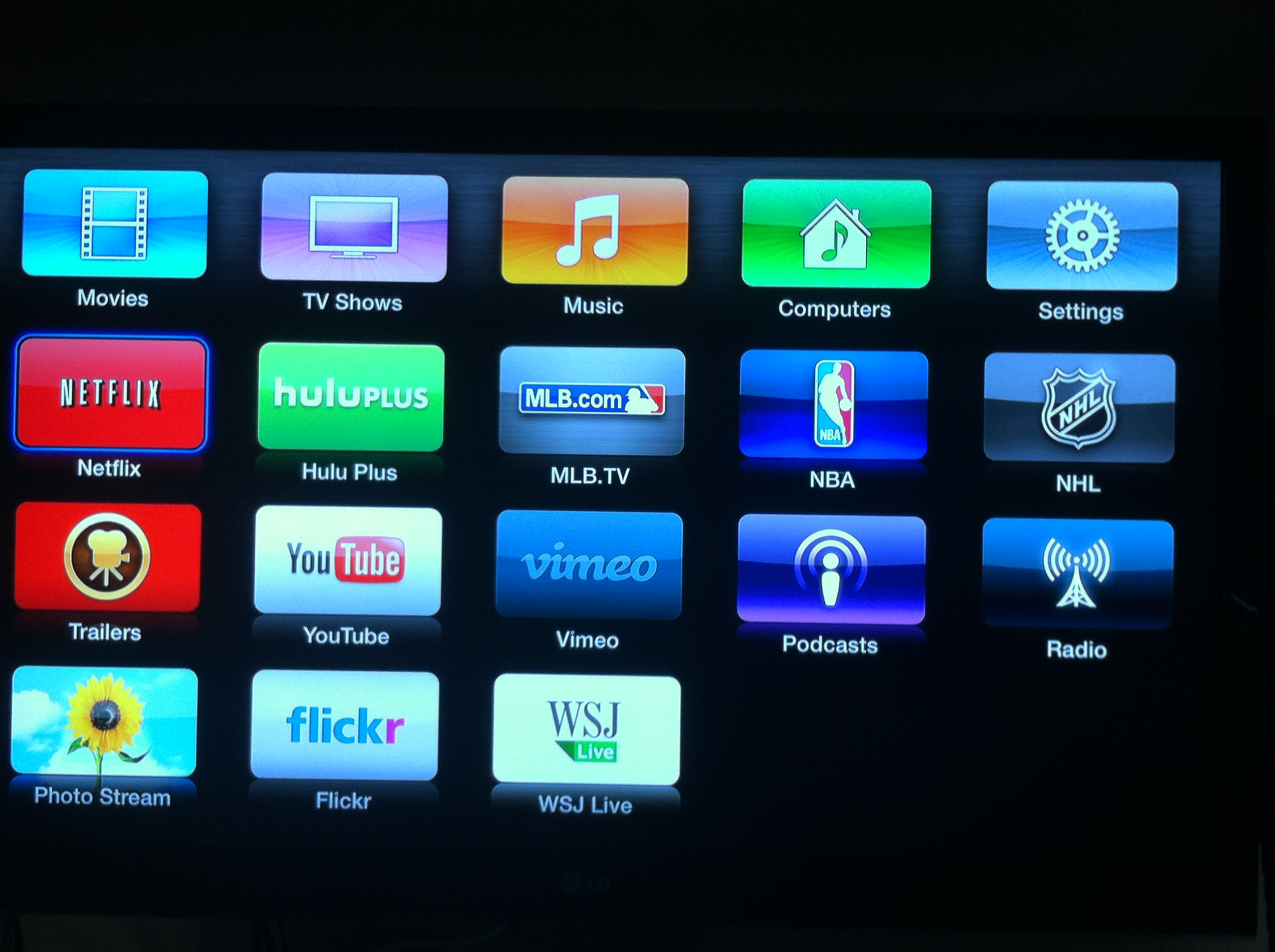 Hulu Plus Now Available on Apple TV | Sl's Repository